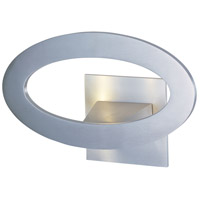 ET2 Alumilux 7 Light Wall Sconce in Satin Aluminum E41300-SA