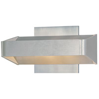 ET2 Alumilux 2 Light Wall Sconce in Satin Aluminum E41304-SA