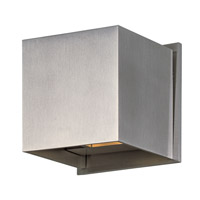 ET2 Alumilux 2 Light Wall Sconce in Satin Aluminum E41308-SA