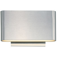 Alumilux LED 5 inch Satin Aluminum Wall Sconce Wall Light