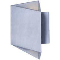 ET2 E41373-SA Alumilux Sconce LED 9 inch Satin Aluminum Outdoor Wall Sconce