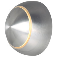 Satin Aluminum Alumilux Outdoor Wall Lights