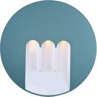 ET2 E41424-PL Alumilux Sconce LED 10 inch Platinum Outdoor Wall Mount