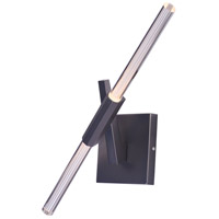 Light Saber LED LED 8 inch Gunmetal Wall Sconce Wall Light