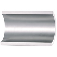 Alumilux LED 5 inch Satin Aluminum Outdoor Wall Mount