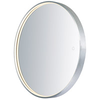 ET2 E42016-90AL Mirror 28 X 28 inch Brushed Aluminum LED Mirror