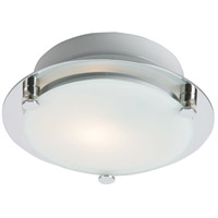 ET2 Piccolo LED 1 Light Flush Mount in Satin Nickel E53833-09SN