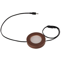 CounterMax MX-LD-D LED 3 inch Anodized Bronze Under Cabinet Disc