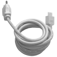 ET2 CounterMax MXInterLink3 6ft Power Cord in White E57860-WT photo thumbnail