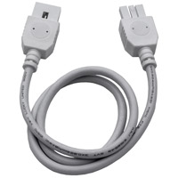 ET2 CounterMax MXInterLink4 24in Connector Cord in White E57878-WT photo thumbnail