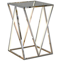 ET2 E71000-PC Victory 24 X 16 inch Polished Chrome Accent Table