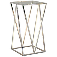 ET2 E71001-PC Victory 30 X 16 inch Polished Chrome Accent Table