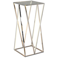ET2 E71003-PC Victory 36 X 16 inch Polished Chrome Accent Table