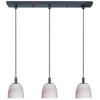 ET2 Carte 3 Light Linear Pendant in Bronze E91013-39