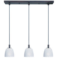 ET2 Carte 3 Light Linear Pendant in Bronze E91013-41