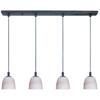ET2 Carte 4 Light Linear Pendant in Bronze E91014-39