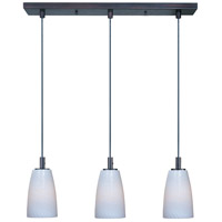 ET2 Carte 3 Light Linear Pendant in Bronze E91043-13BZ