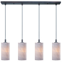 ET2 Carte 4 Light Linear Pendant in Bronze E91054-39