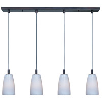 ET2 Carte 4 Light Linear Pendant in Bronze E92044-13