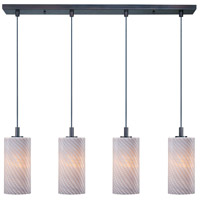 ET2 Carte 4 Light Linear Pendant in Bronze E92054-39 photo thumbnail