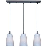 ET2 Carte 3 Light Linear Pendant in Bronze E93043-13