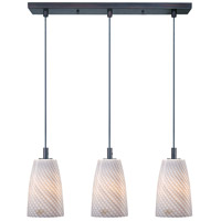 ET2 Carte 3 Light Linear Pendant in Bronze E93043-39BZ