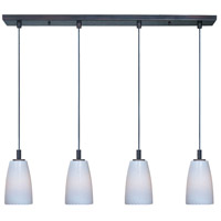 ET2 Carte 4 Light Linear Pendant in Bronze E93044-13