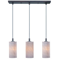 ET2 Carte 3 Light Linear Pendant in Bronze E93053-39