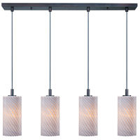 ET2 Carte 4 Light Linear Pendant in Bronze E93054-39