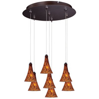 ET2 Minx RapidJack Multi-Light Pendant in Bronze E93731-104BZ