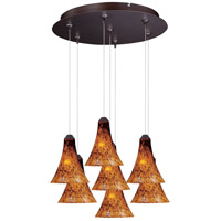 ET2 Minx RapidJack Multi-Light Pendant in Bronze E93733-104BZ