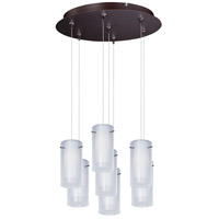 ET2 Frost RapidJack Multi-Light Pendant in Bronze E93744-10BZ