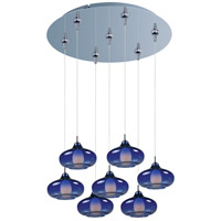 ET2 Minx 7 Light Multi-Light Pendant in Polished Chrome E93748-140PC