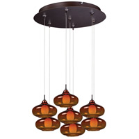 ET2 Minx RapidJack Multi-Light Pendant in Bronze E93748-141BZ