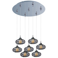 ET2 Minx 7 Light Multi-Light Pendant in Polished Chrome E93748-142PC