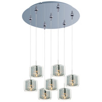 ET2 Minx 7 Light Multi-Light Pendant in Polished Chrome E93749-146PC