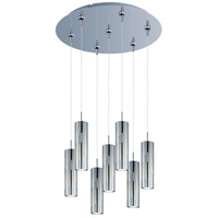 ET2 Scope 7 Light Multi-Light Pendant in Polished Chrome E93751-90PC