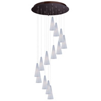 ET2 Minx RapidJack Multi-Light Pendant in Bronze E93828-101BZ