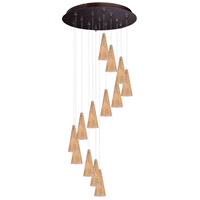 ET2 Minx RapidJack Multi-Light Pendant in Bronze E93830-103BZ
