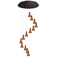 ET2 Minx RapidJack Multi-Light Pendant in Bronze E93831-104BZ
