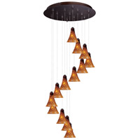 ET2 Minx RapidJack Multi-Light Pendant in Bronze E93833-104BZ