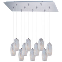 ET2 Minx 10 Light Linear Pendant in Satin Nickel E93911-54SN