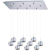 ET2 Minx 10 Light Linear Pendant in Satin Nickel E93913-56SN