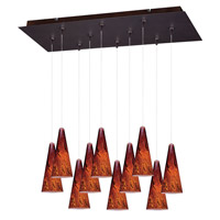ET2 Minx RapidJack Multi-Light Pendant in Bronze E93929-102BZ