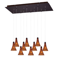 ET2 Minx RapidJack Multi-Light Pendant in Bronze E93931-104BZ