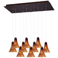ET2 Minx RapidJack Multi-Light Pendant in Bronze E93933-104BZ