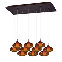 ET2 Minx RapidJack Multi-Light Pendant in Bronze E93948-141BZ