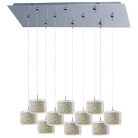 ET2 Minx 10 Light Linear Pendant in Polished Chrome E93949-10PC