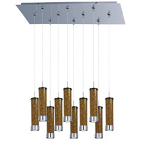 ET2 Chroma 10 Light Linear Pendant in Polished Chrome E93950-05PC
