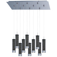 ET2 Chroma 10 Light Linear Pendant in Polished Chrome E93950-138PC